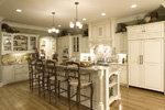 Early American House Plan Kitchen Photo 01 - 065S-0031 | House Plans and More