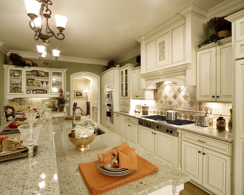 Early American House Plan Kitchen Photo 02 065S-0031
