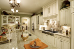 Colonial Floor Plan Kitchen Photo 02 - 065S-0031 | House Plans and More