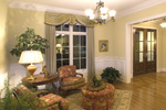 Early American House Plan Sitting Room Photo 01 - 065S-0031 | House Plans and More