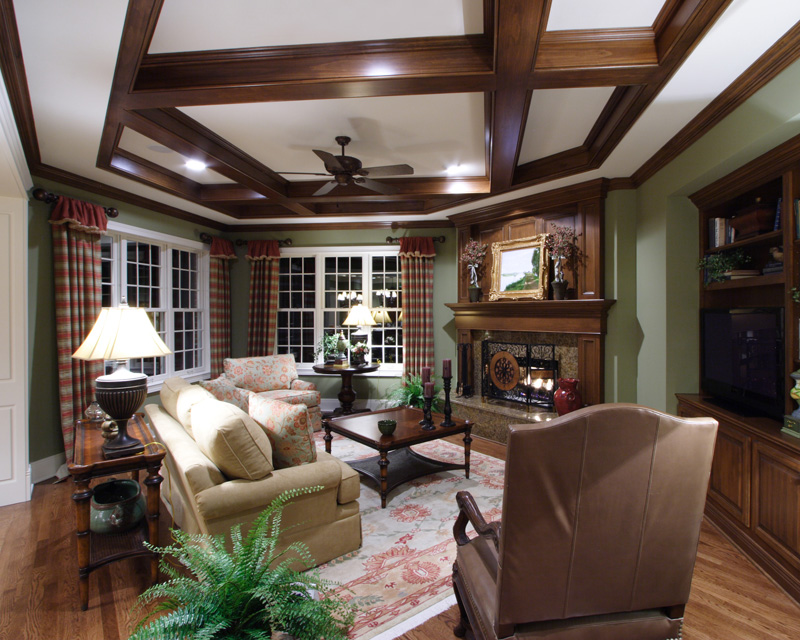 Traditional House Plan Family Room Photo 02 - 065S-0032 | House Plans and More