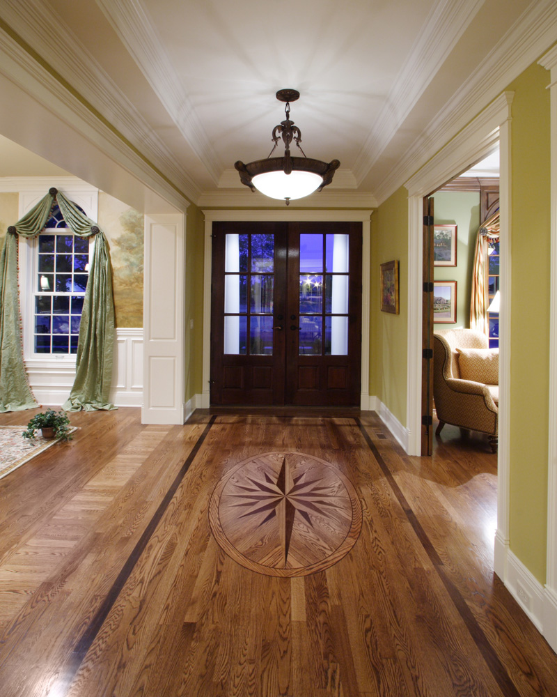 Early American House Plan Foyer Photo - 065S-0032 | House Plans and More