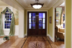 Colonial Floor Plan Foyer Photo - 065S-0032 | House Plans and More
