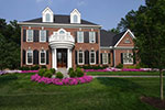 Colonial Floor Plan Front of Home - 065S-0032 | House Plans and More