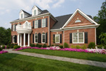 Colonial Floor Plan Front Photo 01 - 065S-0032 | House Plans and More