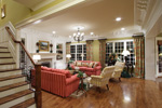 Colonial House Plan Great Room Photo 02 - 065S-0032 | House Plans and More