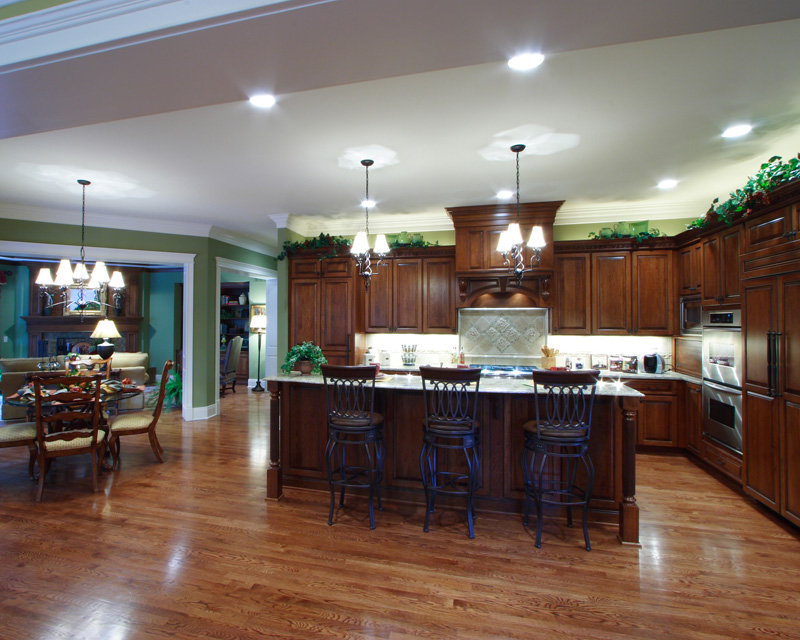 Colonial Floor Plan Kitchen Photo 02 065S-0032
