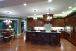Early American House Plan Kitchen Photo 02 - 065S-0032 | House Plans and More