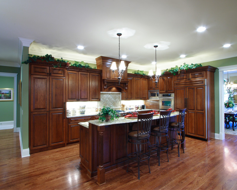 Early American House Plan Kitchen Photo 03 065S-0032
