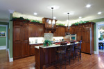 Early American House Plan Kitchen Photo 03 - 065S-0032 | House Plans and More