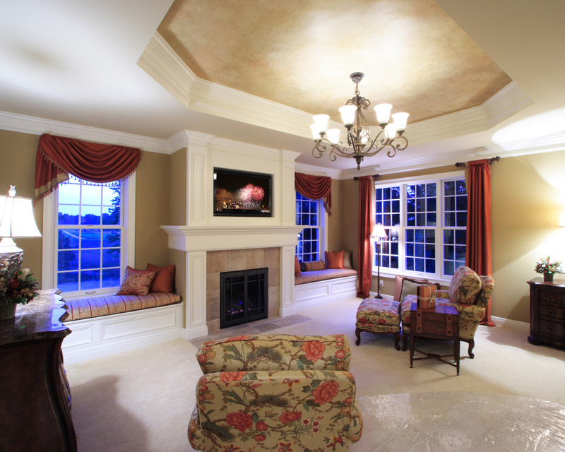 Traditional House Plan Sitting Room Photo 01 065S-0032