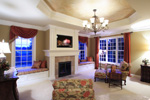 Early American House Plan Sitting Room Photo 01 - 065S-0032 | House Plans and More