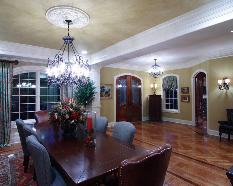 Country French Home Plan Dining Room Photo 01 065S-0033