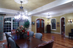 Country French Home Plan Dining Room Photo 01 - 065S-0033 | House Plans and More