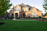 Country French Home Plan Front of Home - 065S-0033 | House Plans and More