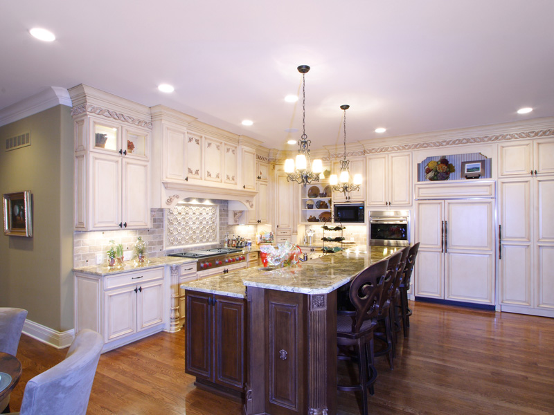 Country French Home Plan Kitchen Photo 01 065S-0033