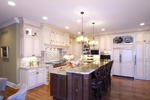 Country French House Plan Kitchen Photo 01 - 065S-0033 | House Plans and More