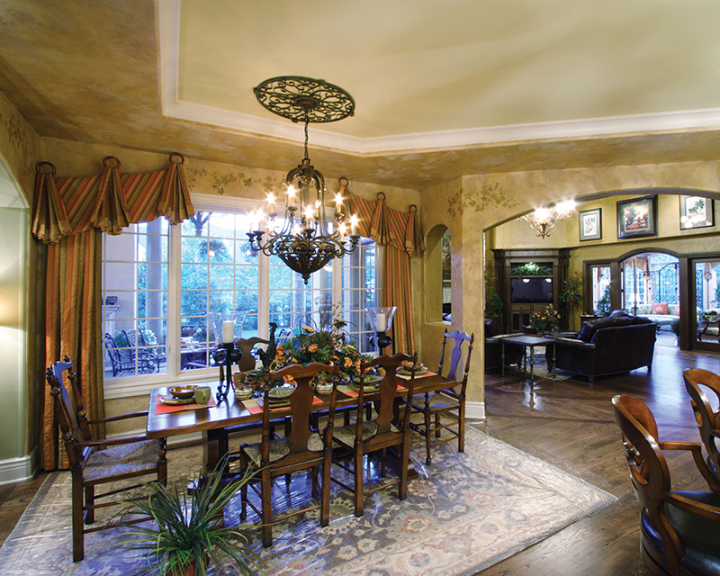 Luxury House Plan Breakfast Room Photo 01 065S-0034