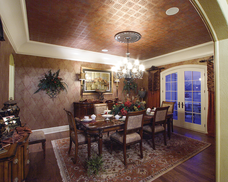 Luxury House Plan Dining Room Photo 01 065S-0034