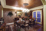 European House Plan Dining Room Photo 01 - 065S-0034 | House Plans and More
