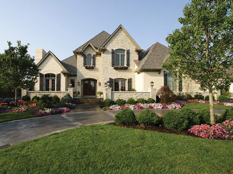 European House Plan Front of Home 065S-0034