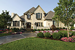 European House Plan Front of Home - 065S-0034 | House Plans and More