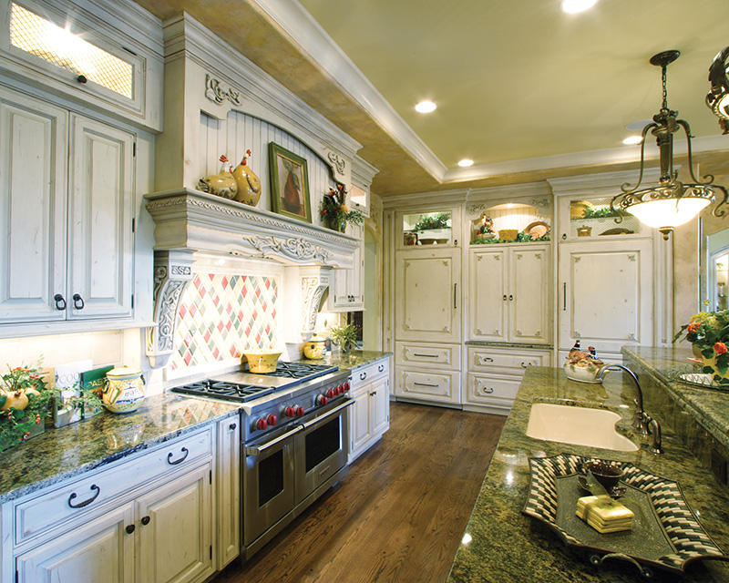 European House Plan Kitchen Photo 01 065S-0034