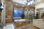 European House Plan Master Bathroom Photo 01 - 065S-0034 | House Plans and More