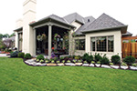 European House Plan Rear Photo 02 - 065S-0034 | House Plans and More