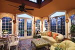 European House Plan Sunroom Photo - 065S-0034 | House Plans and More
