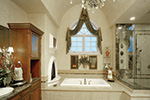 Luxury House Plan Master Bathroom Photo 01 - 065S-0035 | House Plans and More