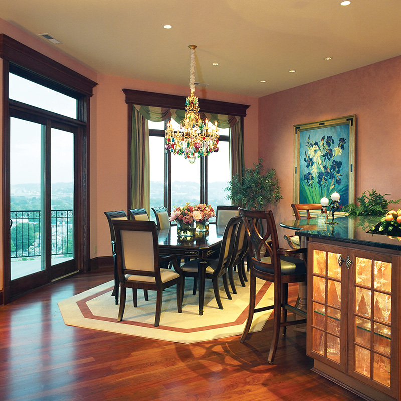 Luxury House Plan Dining Room Photo 01 065S-0036