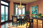 European House Plan Dining Room Photo 01 - 065S-0036 | House Plans and More