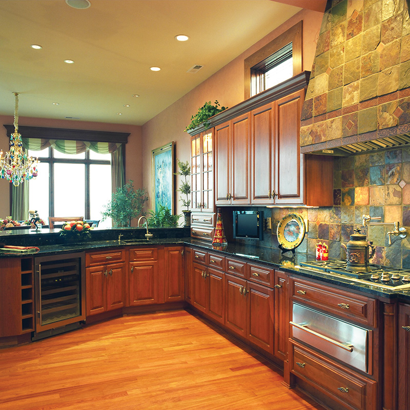 European House Plan Kitchen Photo 01 065S-0036