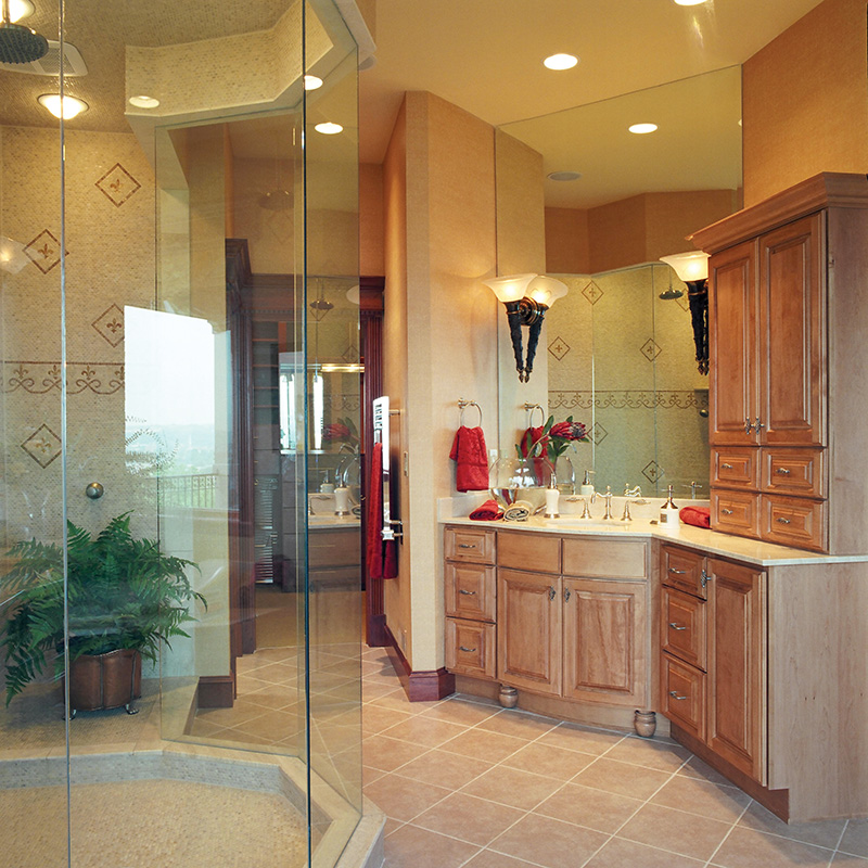 European House Plan Master Bathroom Photo 01 065S-0036