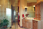 European House Plan Master Bathroom Photo 01 - 065S-0036 | House Plans and More