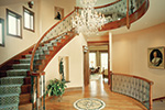 European House Plan Stairs Photo - 065S-0036 | House Plans and More