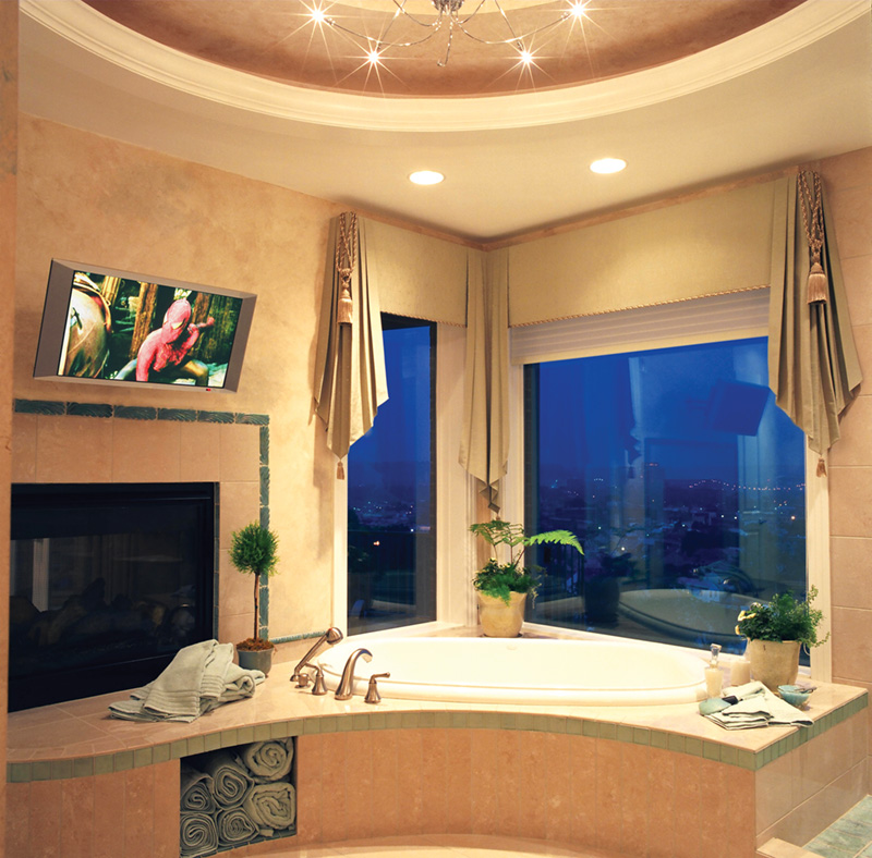 Luxury House Plan Master Bathroom Photo 01 065S-0037