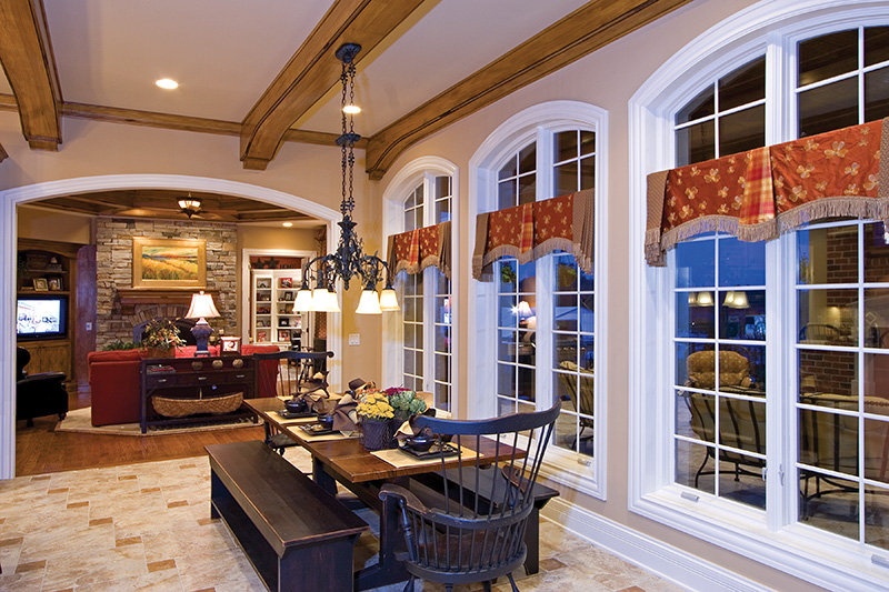 Luxury House Plan Breakfast Room Photo 01 065S-0038