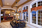Country French Home Plan Breakfast Room Photo 01 - 065S-0038 | House Plans and More