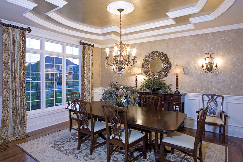European House Plan Dining Room Photo 02 065S-0038
