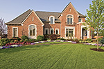Country French Home Plan Front of Home - 065S-0038 | House Plans and More