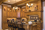 Country French House Plan Kitchen Photo 02 - 065S-0038 | House Plans and More