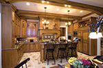 Country French Home Plan Kitchen Photo 03 - 065S-0038 | House Plans and More