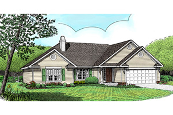 Fox Mill Modest Ranch Home Plan 067d 0044 House Plans