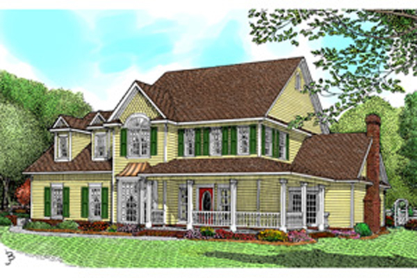 Pennridge Victorian Farmhouse Plan 067D 0055