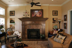European House Plan Living Room Photo 01 - 067S-0001 | House Plans and More