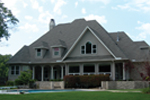 Country French Home Plan Rear Photo 01 - 067S-0002 | House Plans and More
