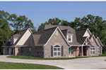 European House Plan Front Photo of House - 067S-0003 | House Plans and More