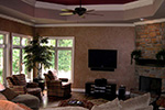 European House Plan Family Room Photo 01 - 067S-0004 | House Plans and More